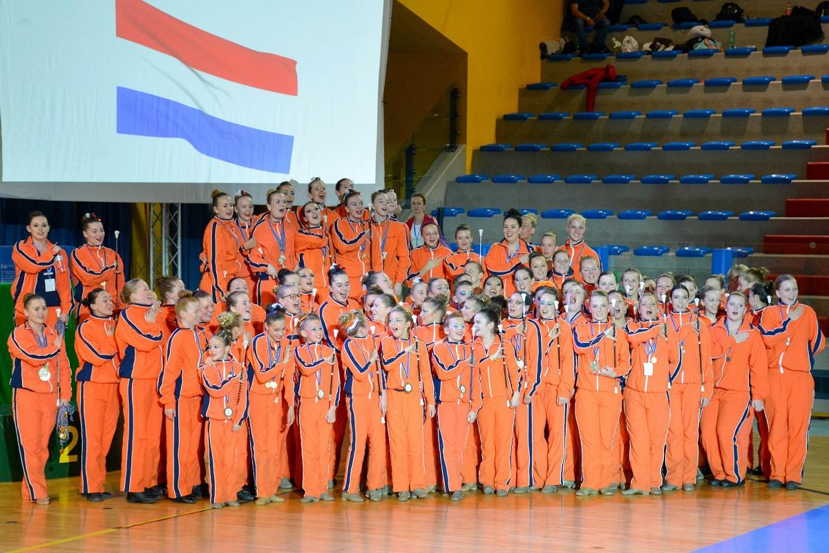 EK Twirl voor Nederland groot succes